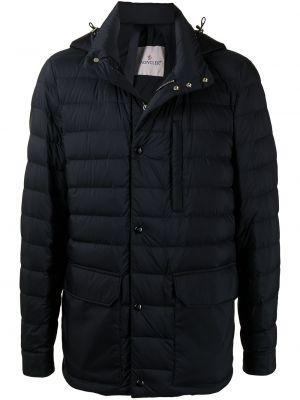 Długa kurtka, niebieski Moncler