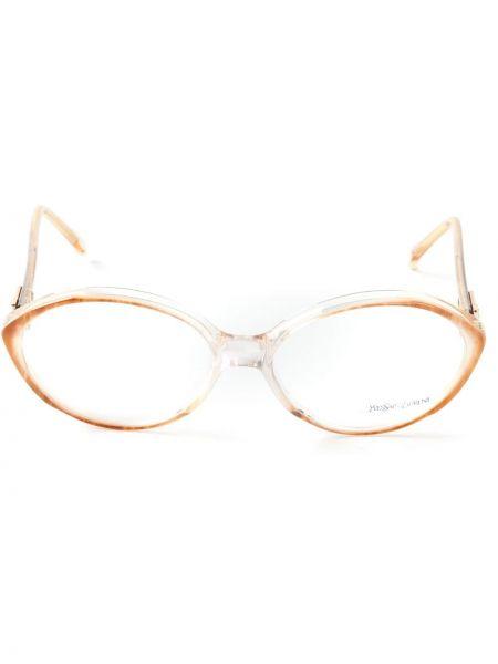 Oprawka do okularów - brązowe Yves Saint Laurent Pre-owned