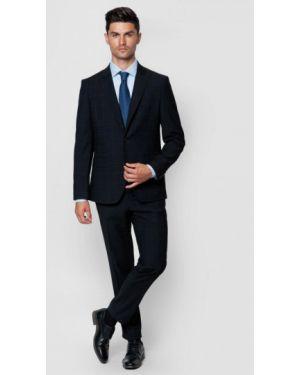 Костюмный черный костюм классический Arber