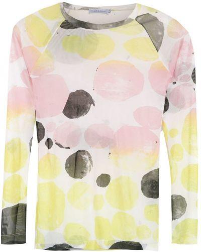 Блузка с длинным рукавом из фатина Mara Mac