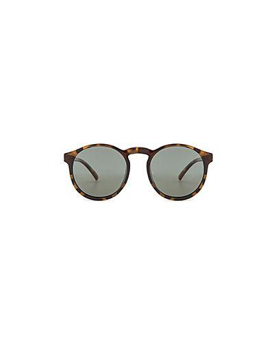 Коричневые солнцезащитные очки Le Specs