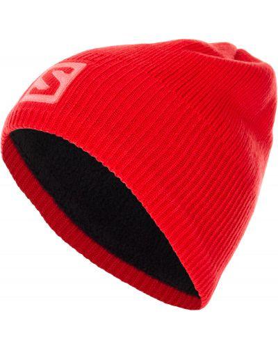 Вязаная шапка бини спортивная Salomon