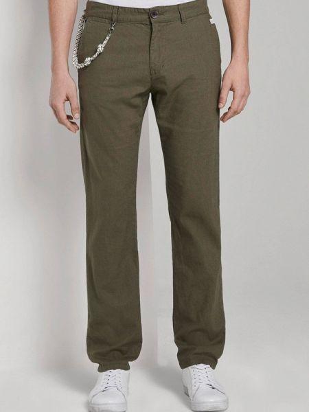 Зеленые брюки Tom Tailor