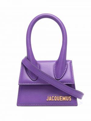 Фиолетовая сумка на плечо Jacquemus
