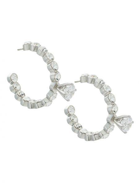 Серебряные серьги металлические с бабочкой à La Garçonne