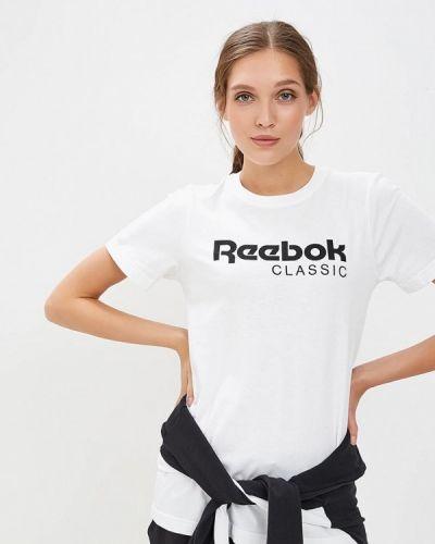 Поло белое Reebok Classics