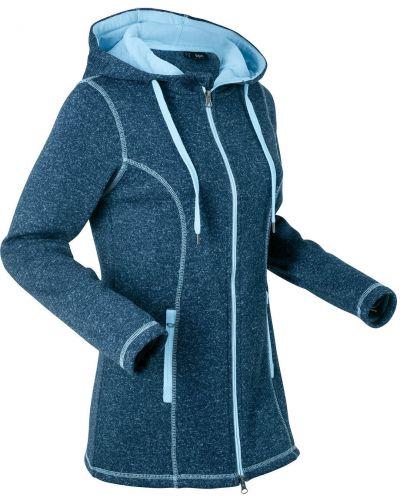 Флисовая синяя куртка Bonprix