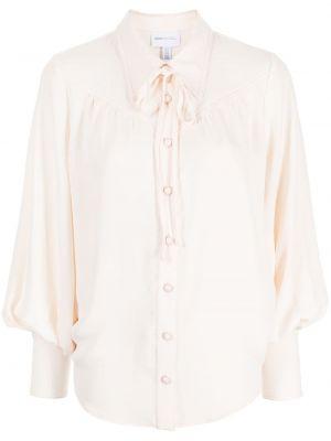 Блузка с длинными рукавами - белая Alice Mccall