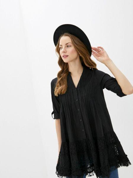 Платье черное весеннее Fresh Cotton