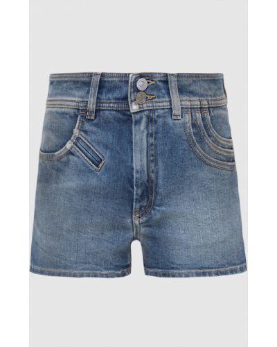 Синие джинсовые шорты Givenchy