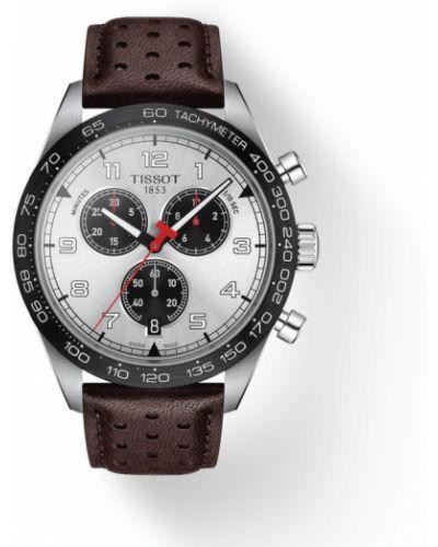 Brązowy zegarek sportowy Tissot