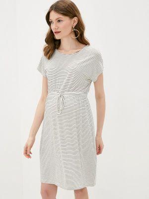 Серое весеннее платье Mama.licious