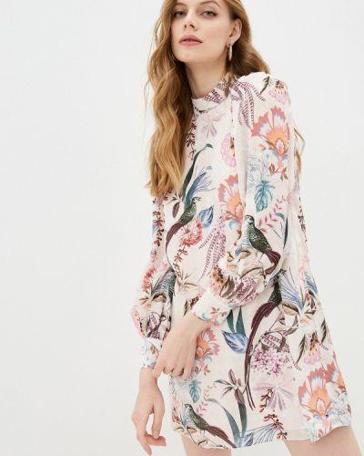 Повседневное розовое платье Ted Baker London