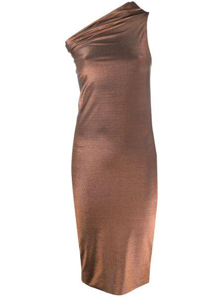 Платье на одно плечо со складками Rick Owens Lilies