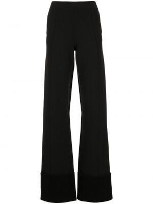 Czarne spodnie z wysokim stanem Altuzarra