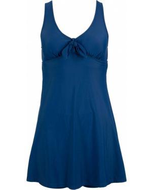 Платье купальное синее Bonprix