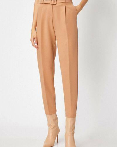 Бежевые классические брюки Koton