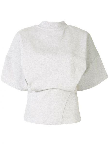 Bawełna z rękawami bawełna szorty bezpłatne cięcie Alexander Wang