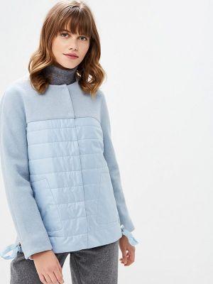 Голубая весенняя куртка La Biali