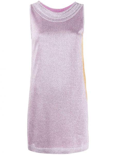 Платье розовое в полоску Missoni