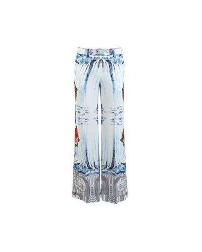 Летние брюки в стиле бохо из вискозы Piccione•piccione
