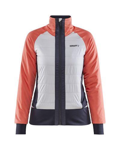 Утепленная красная куртка горнолыжная для бега Craft