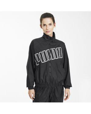 Спортивная куртка с надписью с карманами Puma