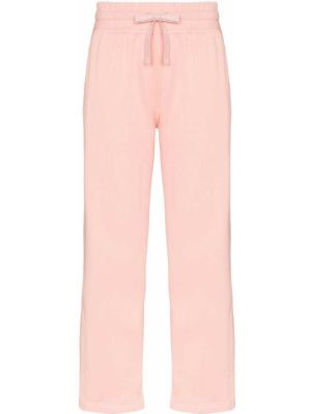 Спортивные брюки укороченные розовый Adidas