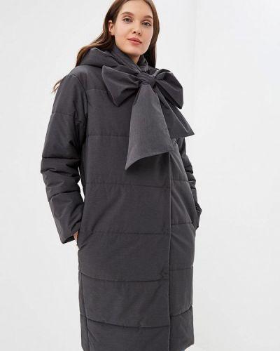 Утепленная куртка - серая Emi
