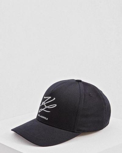 Бейсболка черная Karl Lagerfeld