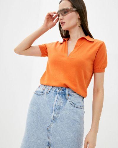 Оранжевая футболка Rodier