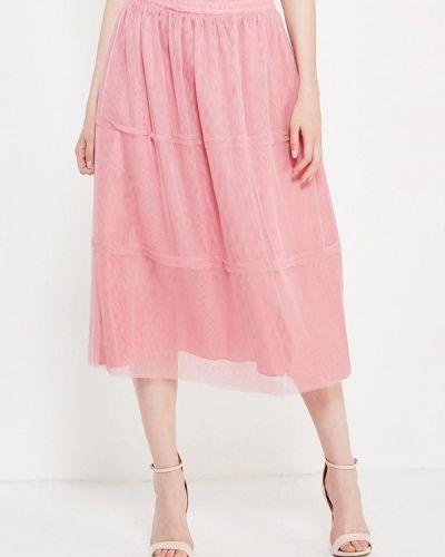 Юбка широкая розовая Toryz
