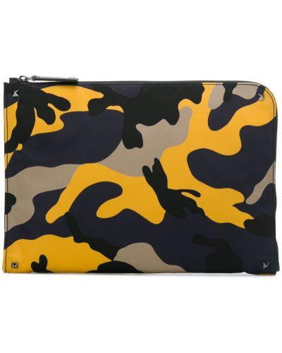 Сумка для ноутбука с логотипом на молнии Valentino