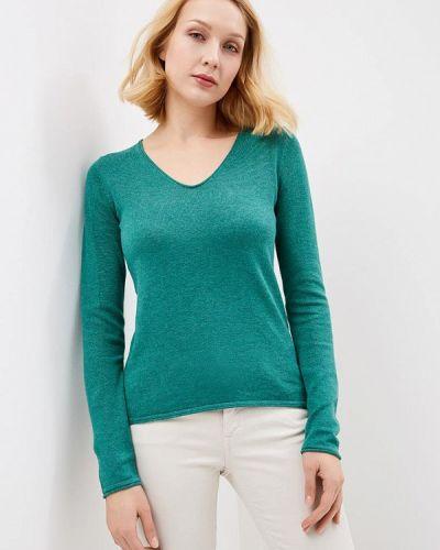 Зеленый пуловер Tom Tailor