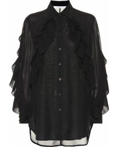 Блузка с рюшами батник Givenchy