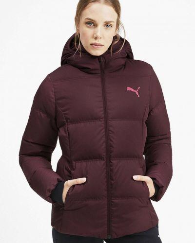Зимняя куртка осенняя бордовый Puma