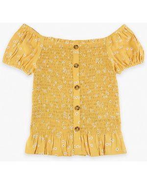 Желтая блузка Marks & Spencer