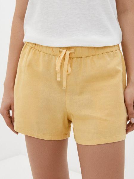 Желтые шорты Roxy