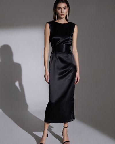 Прямое платье с поясом с декольте Charuel