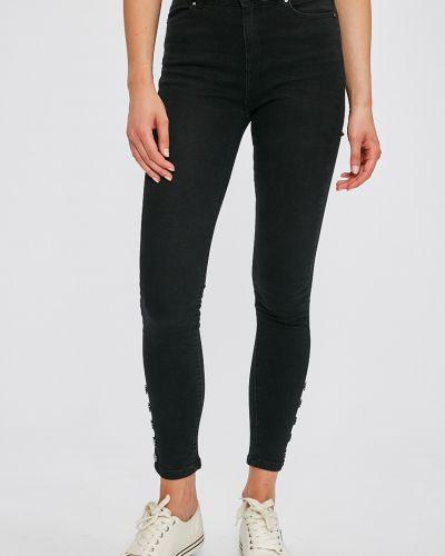 Черные джинсы-скинни Morgan