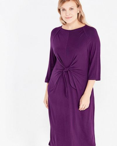 Платье осеннее фиолетовый Svesta