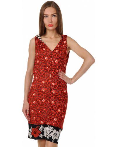 Платье из вискозы - красное Jean Paul Gaultier