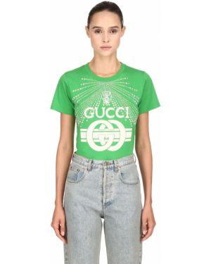 Рубашка с воротником-стойкой Gucci