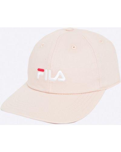 Розовая кепка Fila
