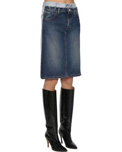 Юбка мини миди джинсовая Maison Margiela