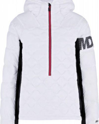 Утепленная пуховая белая куртка Madshus