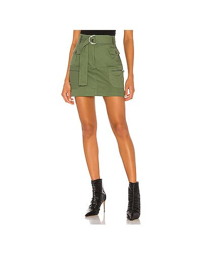 Плиссированная юбка мини с карманами Kendall + Kylie