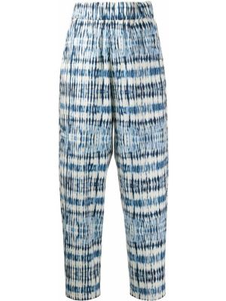 Укороченные брюки с поясом эластичные Barena