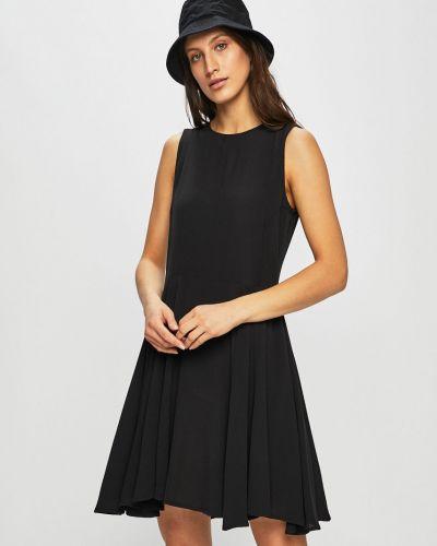 Расклешенное облегающее платье мини эластичное Review