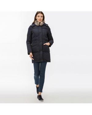 Куртка с капюшоном на пуговицах на молнии Lacoste